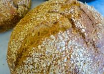 No-Knead Multigrain Bread  (NYT recipe)