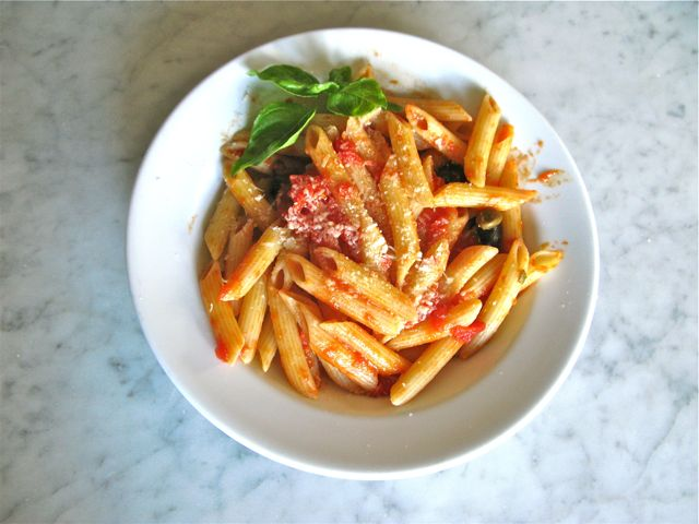 Coco's Bread & Co – Eating Healthy - Pasta with Tomato ...
