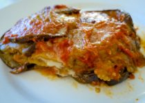 Light Eggplant Parmesan Egg-free and Gluten-Free