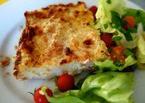 Potato Mozzarella Ham  Gateau (Casserole)