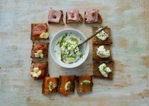 Tartines with Multigrain Bread