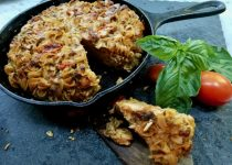 Frittata di Maccheroni - Leftover Pasta Frittata