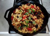 Rotini alla Norma  -  Sicilian-Style Pasta with Eggplant